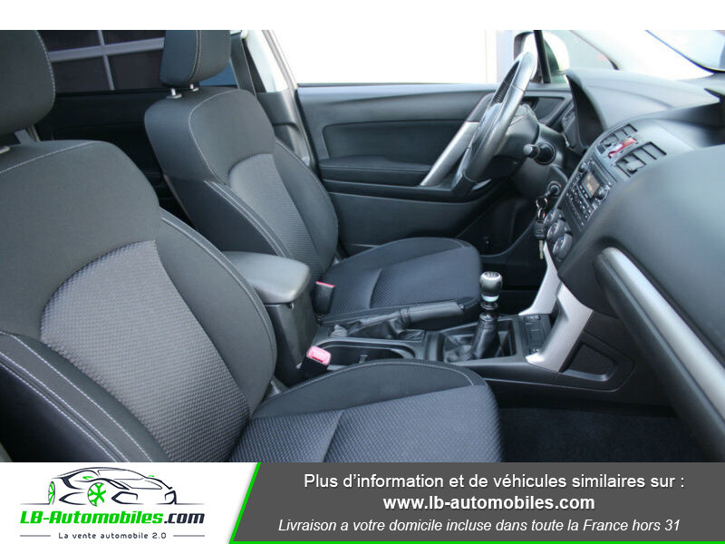 Subaru Forester 2.0 D 147 ch Beige occasion à Beaupuy - photo n°4