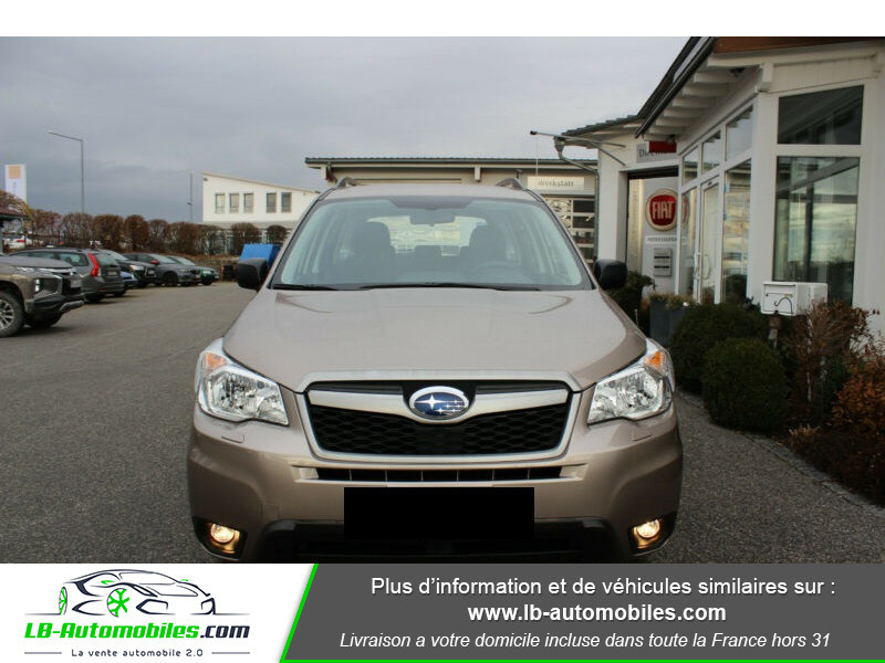 Subaru Forester 2.0 D 147 ch Marron occasion à Beaupuy - photo n°4