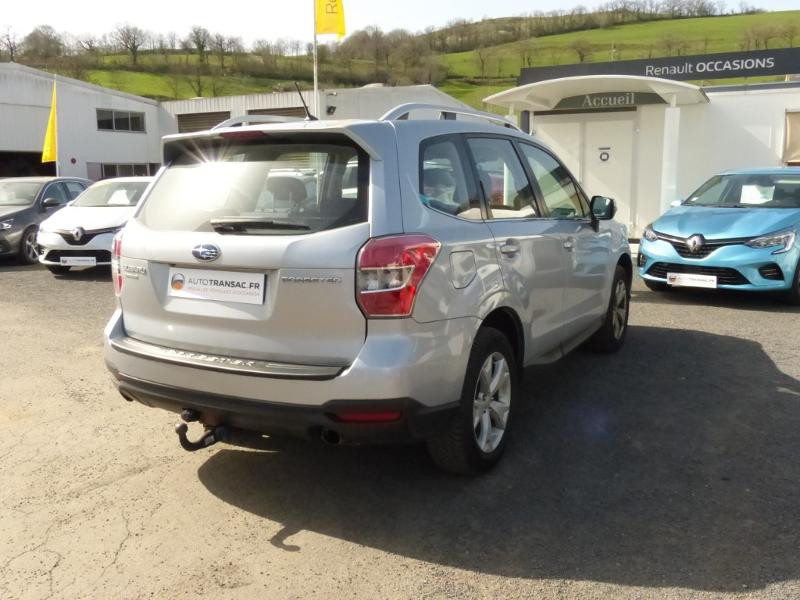 Subaru Forester 2.0i 150 Premium Lineartronic Gris occasion à Aurillac - photo n°7