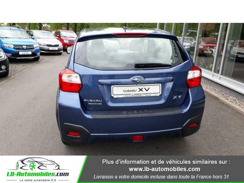 Subaru XV 2.0i AWD 150 Bleu occasion à Beaupuy - photo n°8