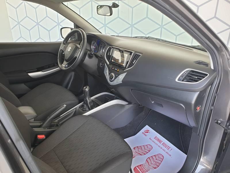 Suzuki Baleno 1.0 Boosterjet Pack Gris occasion à Marmande - photo n°3