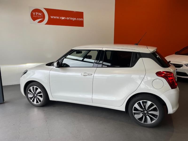 Suzuki Swift 1.0 BOOSTERJET HYBRID SHVS 111CH PACK Blanc occasion à Foix - photo n°2
