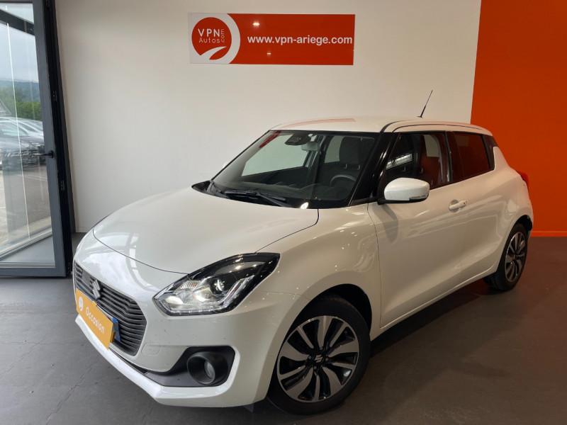 Suzuki Swift 1.0 BOOSTERJET HYBRID SHVS 111CH PACK Blanc occasion à Foix