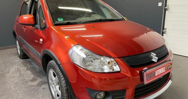 Suzuki SX4 1.9 DDiS 120 CV 4X4 115 000 KMS Rouge occasion à COURNON D'AUVERGNE - photo n°5
