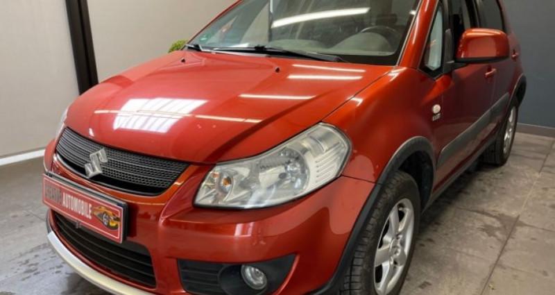 Suzuki SX4 1.9 DDiS 120 CV 4X4 115 000 KMS Rouge occasion à COURNON D'AUVERGNE - photo n°3