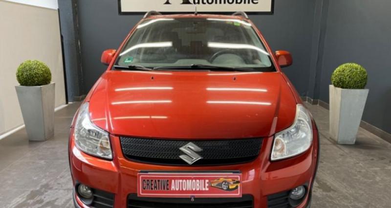 Suzuki SX4 1.9 DDiS 120 CV 4X4 115 000 KMS Rouge occasion à COURNON D'AUVERGNE - photo n°2