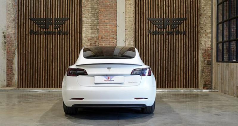 """Tesla Model 3 """"PERFORMANCE"""" Als nieuw! Direct leverbaar! Blanc occasion à HALEN - photo n°5"""