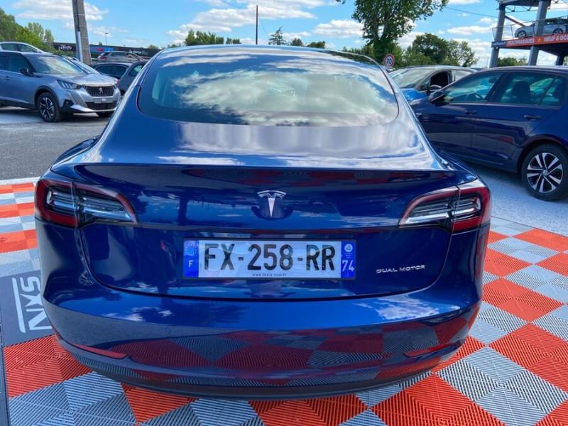 Tesla Model 3 LONG RANGE AWD Bleu occasion à Lescure-d'Albigeois - photo n°6