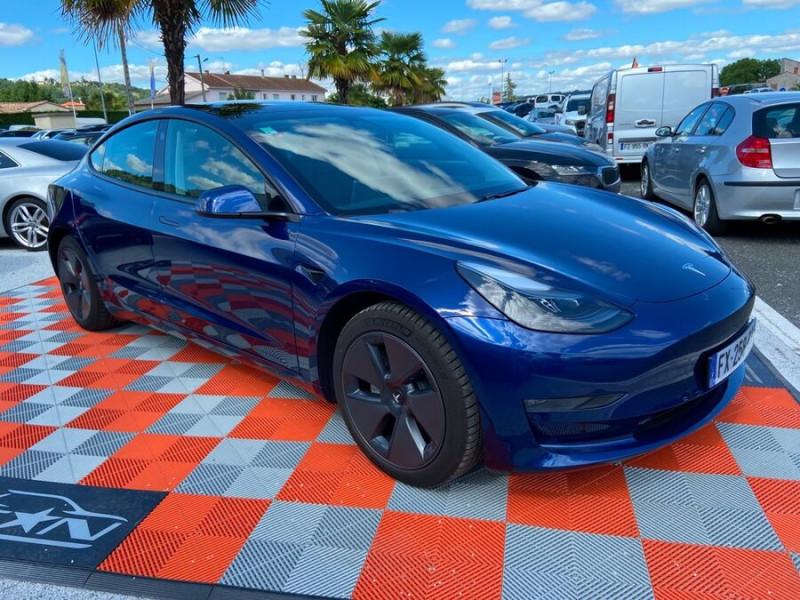 Tesla Model 3 LONG RANGE AWD Bleu occasion à Lescure-d'Albigeois - photo n°10