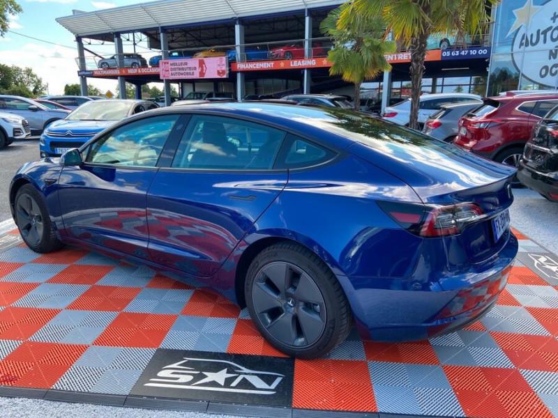Tesla Model 3 LONG RANGE AWD Bleu occasion à Lescure-d'Albigeois - photo n°5