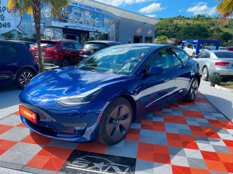 Tesla Model 3 LONG RANGE AWD Bleu occasion à Lescure-d'Albigeois