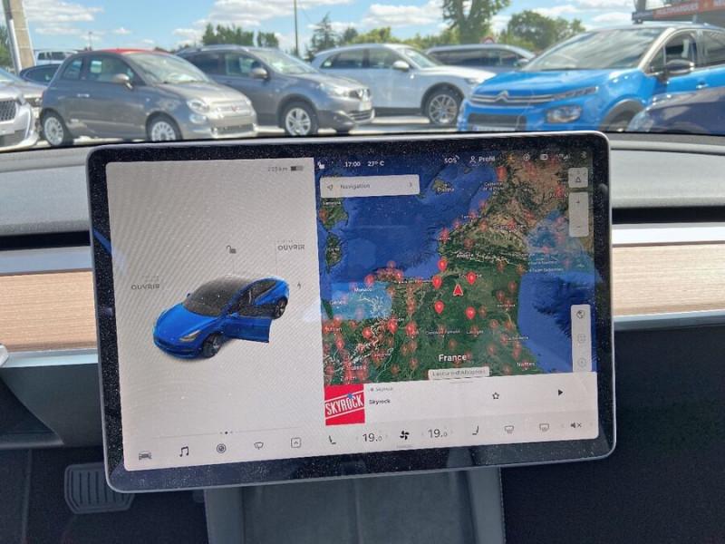 Tesla Model 3 LONG RANGE AWD Bleu occasion à Lescure-d'Albigeois - photo n°13