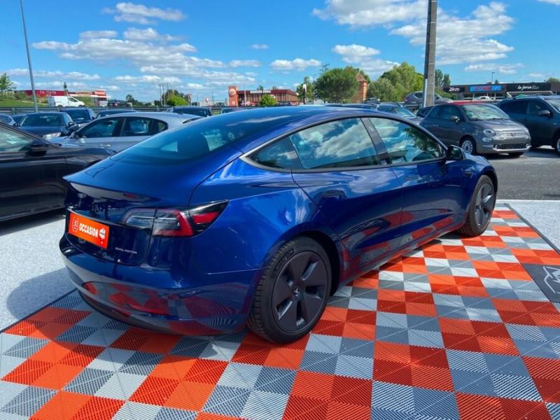 Tesla Model 3 LONG RANGE AWD Bleu occasion à Lescure-d'Albigeois - photo n°2