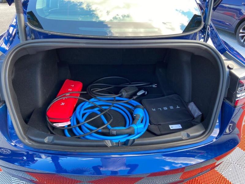 Tesla Model 3 LONG RANGE AWD Bleu occasion à Lescure-d'Albigeois - photo n°7