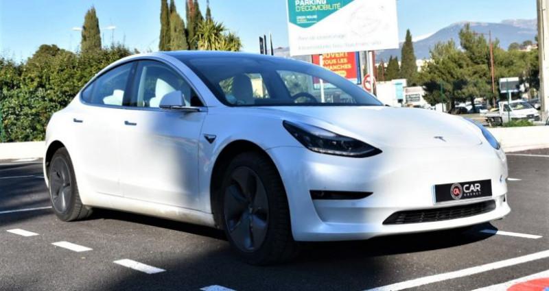 Tesla Model 3 Long Range Dual Motor 351Ch ! GARANTIE ! Blanc occasion à ANTIBES - photo n°3