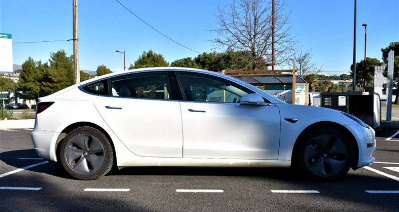 Tesla Model 3 Long Range Dual Motor 351Ch ! GARANTIE ! Blanc occasion à ANTIBES - photo n°4