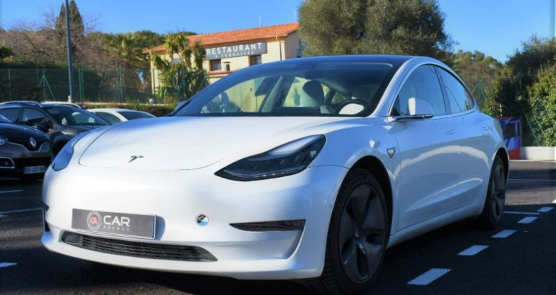 Tesla Model 3 Long Range Dual Motor 351Ch ! GARANTIE ! Blanc occasion à ANTIBES