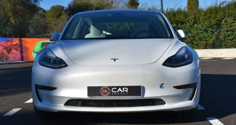 Tesla Model 3 Long Range Dual Motor 351Ch ! GARANTIE ! Blanc occasion à ANTIBES - photo n°2