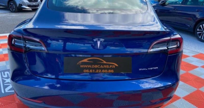 Tesla Model 3 Long Range Dual Motor AWD Bleu occasion à GASSIN - photo n°4