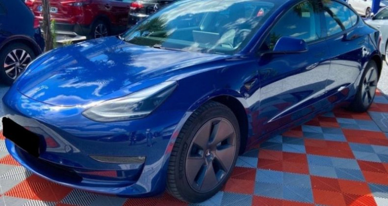Tesla Model 3 Long Range Dual Motor AWD Bleu occasion à GASSIN - photo n°2