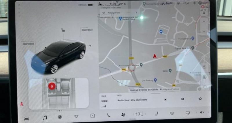 Tesla Model 3 Standard RWD Plus Noir occasion à Saint Ouen L'Aumône - photo n°7