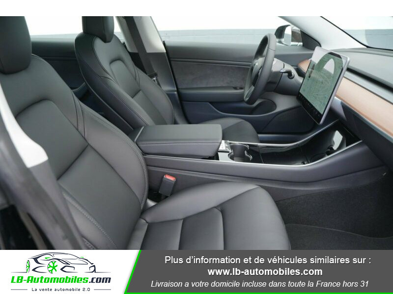 Tesla Model 3 standart  plus range Noir occasion à Beaupuy - photo n°6