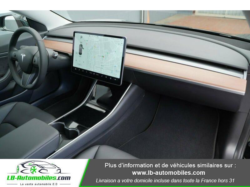 Tesla Model 3 standart  plus range Noir occasion à Beaupuy - photo n°7