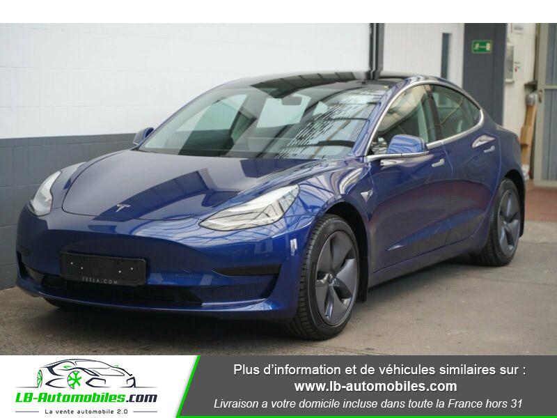 Tesla Model 3 standart plus range Bleu occasion à Beaupuy