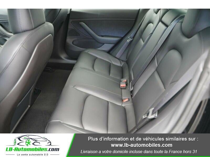 Tesla Model 3 standart  plus range Noir occasion à Beaupuy - photo n°11