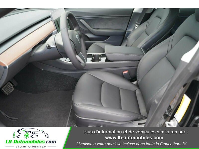 Tesla Model 3 standart  plus range Noir occasion à Beaupuy - photo n°10