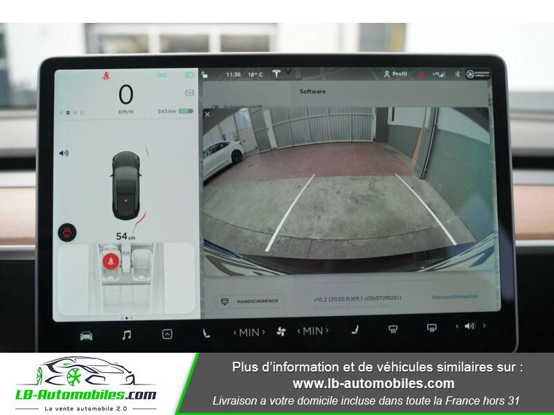 Tesla Model 3 standart  plus range Noir occasion à Beaupuy - photo n°8