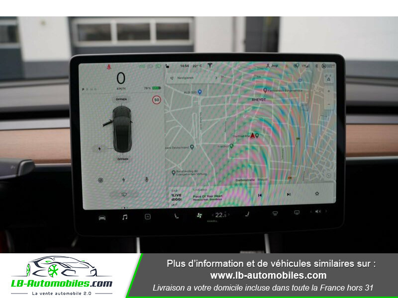Tesla Model 3 standart plus Gris occasion à Beaupuy - photo n°6