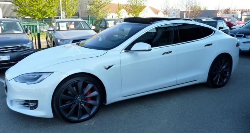 Tesla Model S 100 kWh All-Wheel Drive Ludicrous Performance Blanc occasion à SAINT MAXIMUM - photo n°5