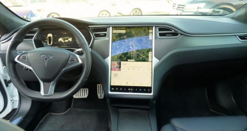 Tesla Model S 100 kWh All-Wheel Drive Ludicrous Performance Blanc occasion à SAINT MAXIMUM - photo n°6