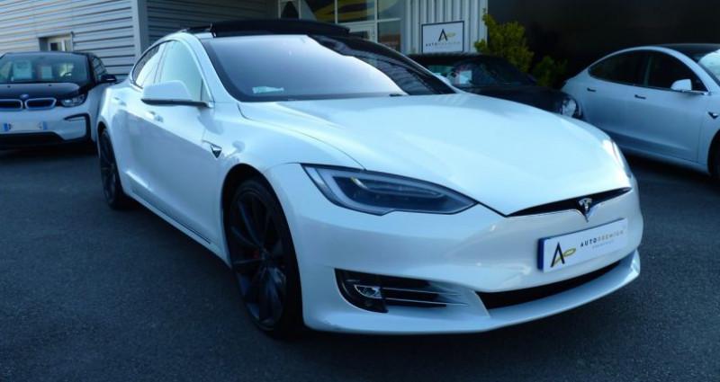 Tesla Model S 100 kWh All-Wheel Drive Ludicrous Performance Blanc occasion à SAINT MAXIMUM