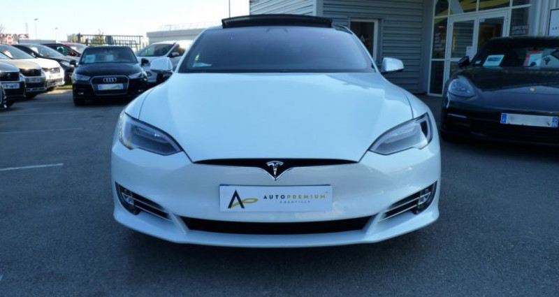 Tesla Model S 100 kWh All-Wheel Drive Ludicrous Performance Blanc occasion à SAINT MAXIMUM - photo n°2