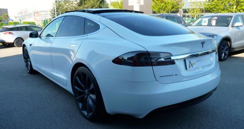 Tesla Model S 100 kWh All-Wheel Drive Ludicrous Performance Blanc occasion à SAINT MAXIMUM - photo n°4