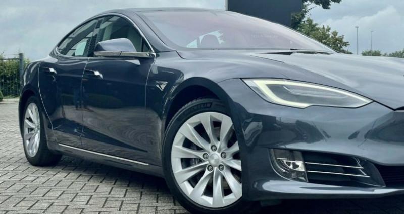 Tesla Model S 100D Dual Motor Gris occasion à Boulogne-Billancourt - photo n°3