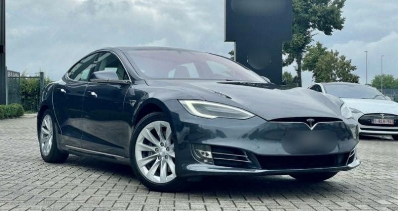 Tesla Model S 100D Dual Motor Gris occasion à Boulogne-Billancourt