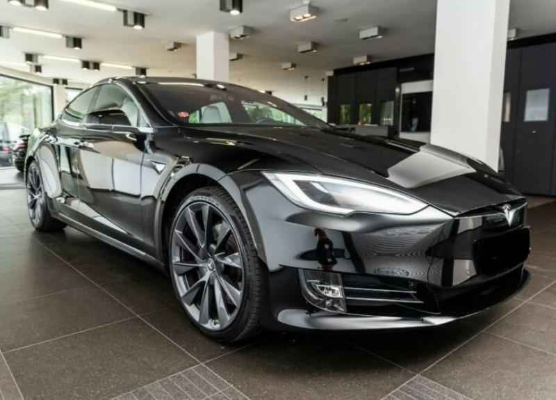 Tesla Model S 100D DUAL MOTOR Noir occasion à Villenave-d'Ornon - photo n°2