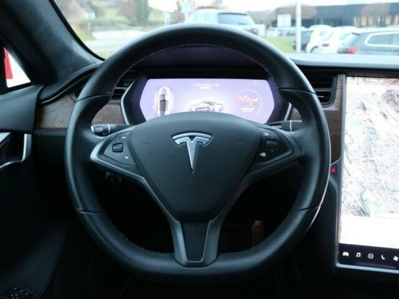 Tesla Model S 100D DUAL MOTOR Gris occasion à Villenave-d'Ornon - photo n°6