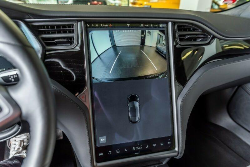Tesla Model S 100D DUAL MOTOR Noir occasion à Villenave-d'Ornon - photo n°9