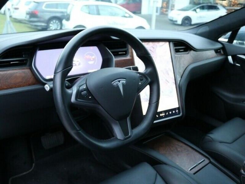 Tesla Model S 100D DUAL MOTOR Gris occasion à Villenave-d'Ornon - photo n°5