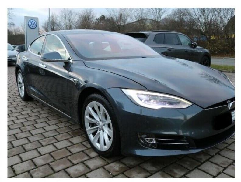 Tesla Model S 100D DUAL MOTOR Gris occasion à Villenave-d'Ornon - photo n°2