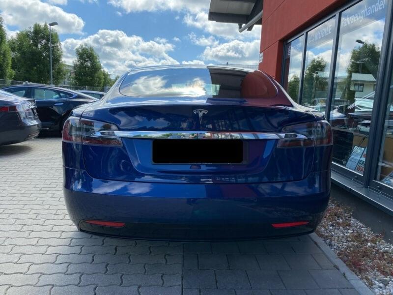 Tesla Model S 100D DUAL MOTOR Bleu occasion à Villenave-d'Ornon - photo n°4