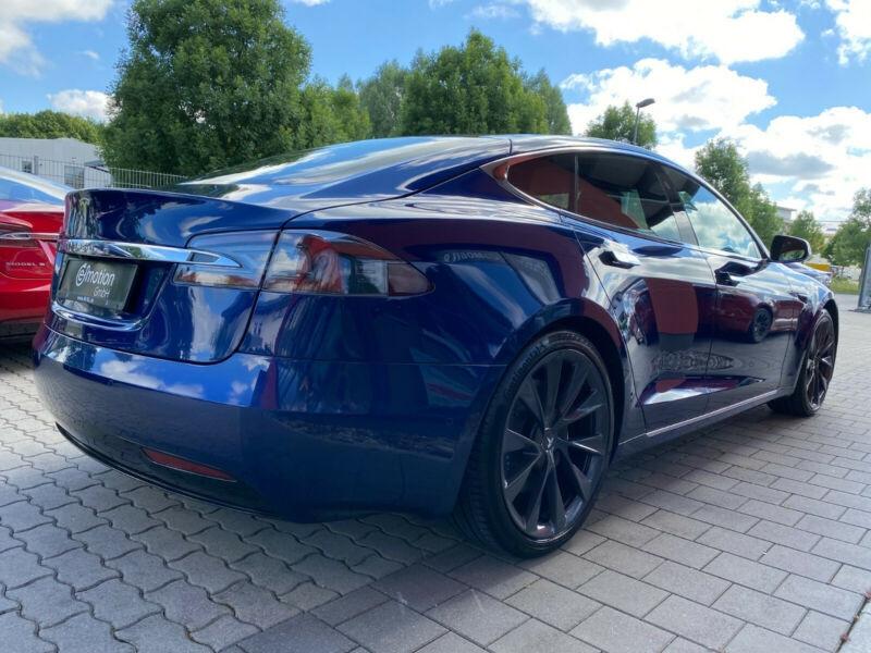 Tesla Model S 100D DUAL MOTOR Bleu occasion à Villenave-d'Ornon - photo n°5