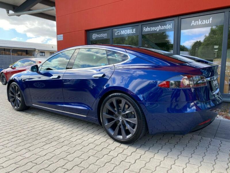 Tesla Model S 100D DUAL MOTOR Bleu occasion à Villenave-d'Ornon - photo n°3