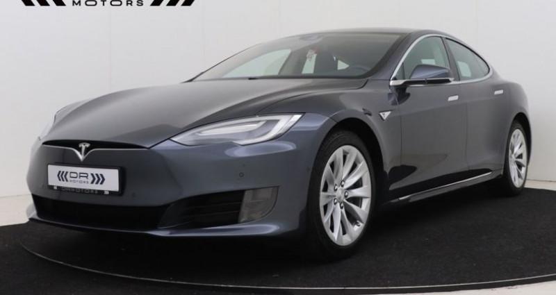 Tesla Model S 60 LEDER - NAVIGATIE XENON 12M GARANTIE Gris occasion à Brugge