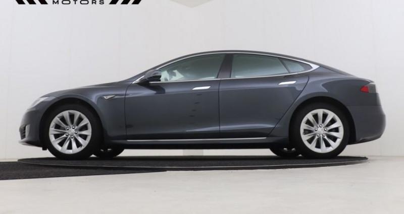 Tesla Model S 60 LEDER - NAVIGATIE XENON 12M GARANTIE Gris occasion à Brugge - photo n°3