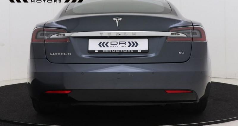 Tesla Model S 60 LEDER - NAVIGATIE XENON 12M GARANTIE Gris occasion à Brugge - photo n°5
